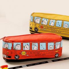 스쿨버스필통 (어린이날 특별기획)- 투명케이스포함